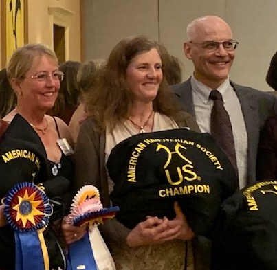 Maple Run Farm was well represented this year at the Hanoverian awards. Caryn Vespermann placed 1st at First Level AA wi...